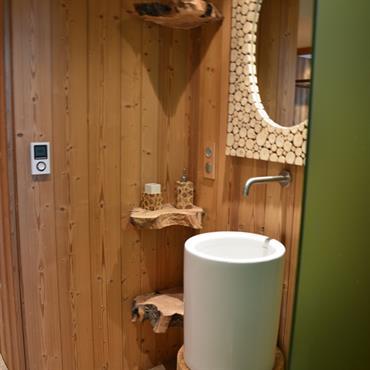 Salle de bains ambiance nature