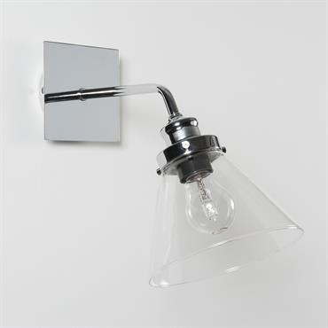Applique en verre H 32 cm BROCANTEUR
