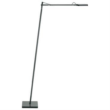 Lampadaire Kelvin LED F / H 110 cm - Flos anthracite en métal