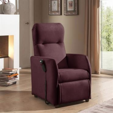 Fauteuil relax microfibre Jessy