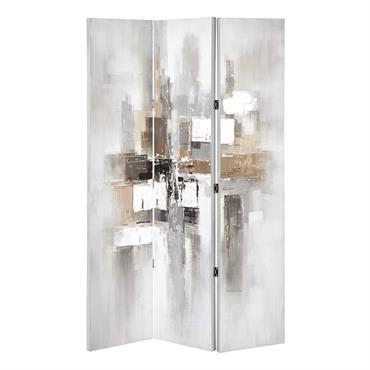 Paravent en bois peint L 119 cm MODERN ART