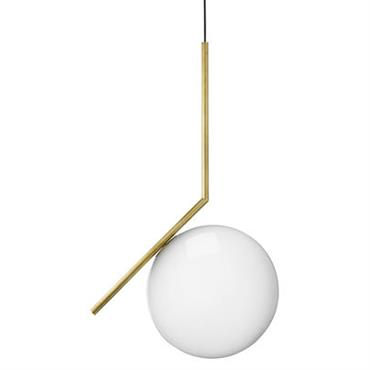 Suspension IC S2 / H 72 cm - Flos Laiton en Métal