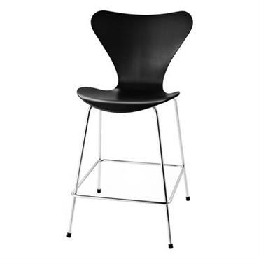 Chaise de bar Série 7 / H 76 cm - Frêne teinté