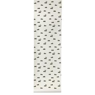 Papier peint Rabbit / 1 rouleau - Larg 53 cm