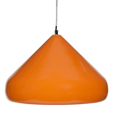 Suspension en métal orange D 40 cm ALEGRIA