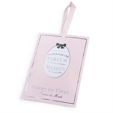 Sachet parfumé fleur rose