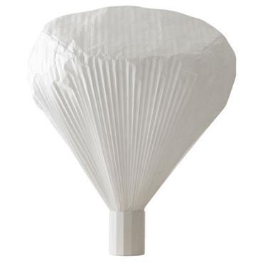 Lampe de sol Vapeur h 85 cm - Moustache blanc en papier