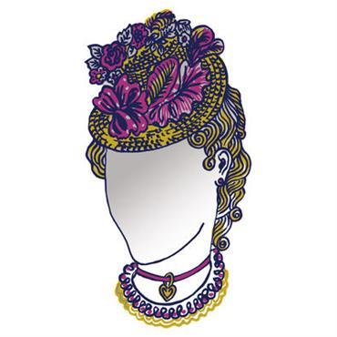 Miroir autocollant Dame / 23 x 44 cm - Domestic miroir