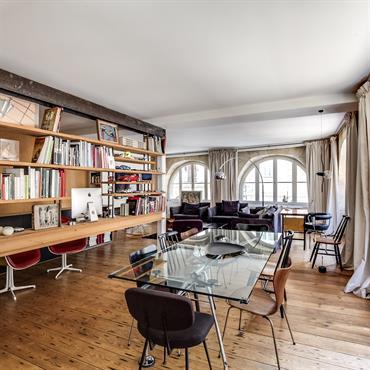 Salon ou bibliothèque ?