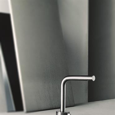 AF/21 Mélangeur lavabo Acier