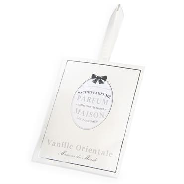 Sachet parfumé vanille orientale blanc