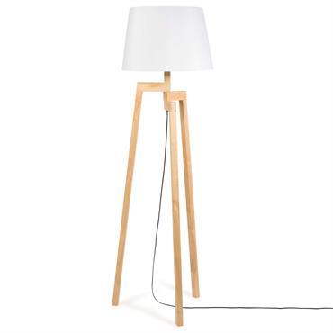 Lampadaire trépied en bois H 150 cm VESUVIO