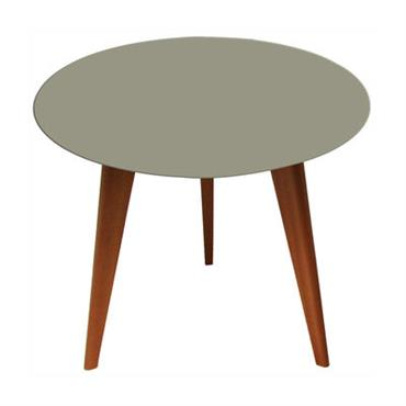 Table basse Lalinde ronde - Small Ø 45 cm / Pieds