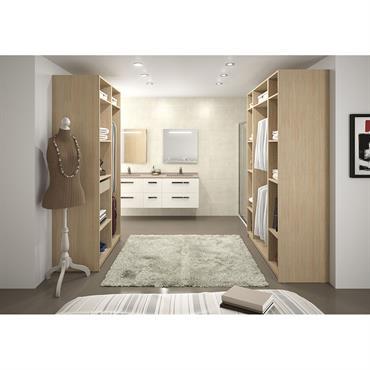 Armoire dressing pour salle de bain