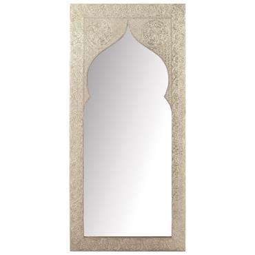 Miroir métallisé 75x160