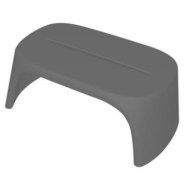 Table basse Amélie / Banc - L 108 cm - Plastique