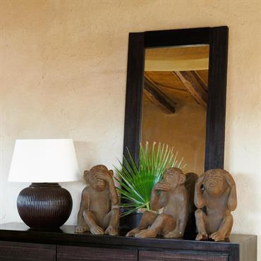 Miroir en bois H 120 cm JAVA