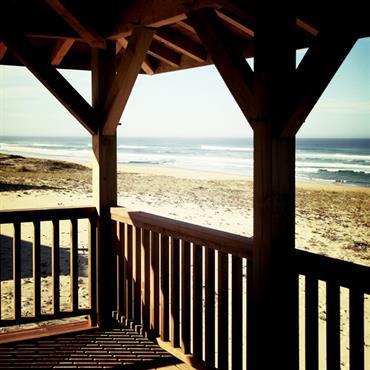 Balcon bord de mer