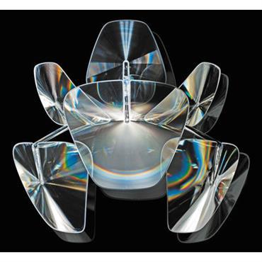 Applique Hope - Luceplan Transparent en Matière plastique