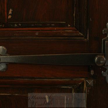 Porte à l'ancienne