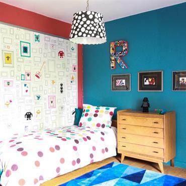 Chambre Garçon avec customisation murale