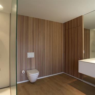 Aménagement d'une salle de douche