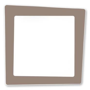 Applique Crazy / Plafonnier LED - 70 x 70 cm - Artemide Blanc