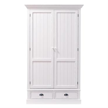 Dressing 2 tiroirs blanc Newport