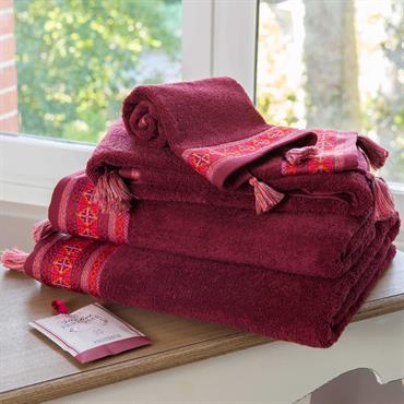 Serviette de bain en coton 50 x 100 cm GUARANA