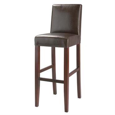 Chaise de bar marron Boston