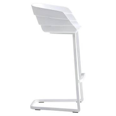 Chaise de bar Rift / H 65 cm - Coque plastique