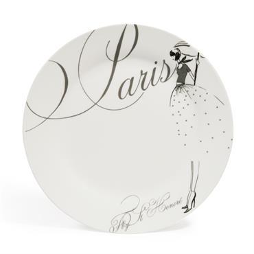 Présentez vos plus belles créations gourmandes avec cette assiette à dessert de la collection NYC MODEUSE (vendue par 6). Cette assiette en porcelaine accompagnera toutes vos dégustations à l'heure du ...
