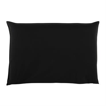Housse de tête de lit 160 noire Soft