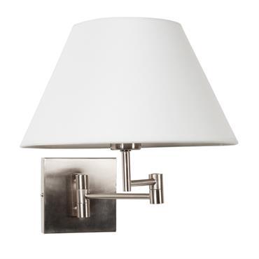 Applique en métal et coton H 30 cm ALANIS