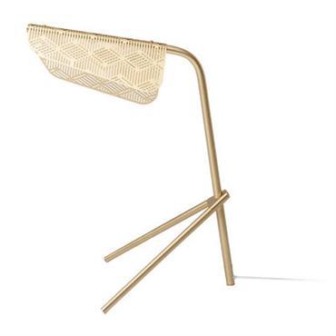 Lampe de table Méditerranéa LED / Laiton - Petite Friture laiton en métal