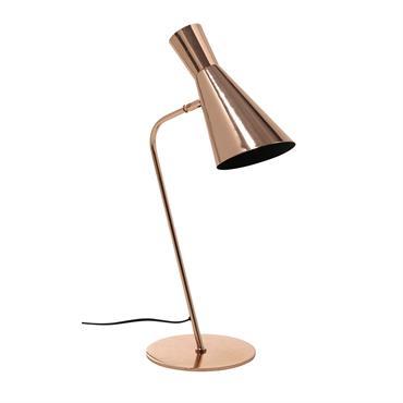 Lampe de bureau en métal cuivré H 61 cm HARRIS COPPER