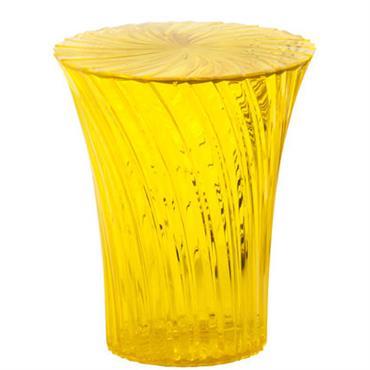 Tabouret Sparkle / Plastique - Kartell miel en matière plastique