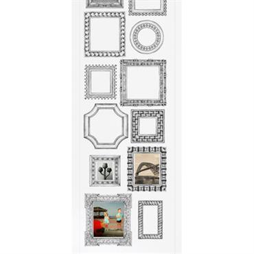 Papier peint Cadres verticaux / 1 lé - Domestic blanc