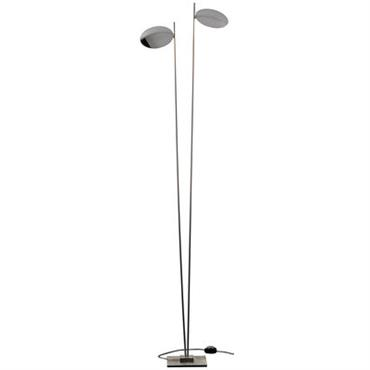 Lampadaire Lederam F2 / LED - H 198 cm - Catellani