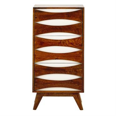 Avec son bois de manguier massif, ce cabinet de rangement donnera une note de chaleur à votre déco. Comme rangement au salon ou dans un bureau, ce cabinet en bois ...
