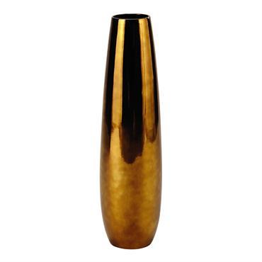 Vase en céramique cuivrée H 71 cm APPOLINE