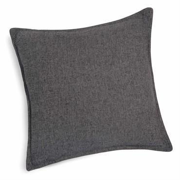Coussin gris 45 x 45 cm CHENILLE