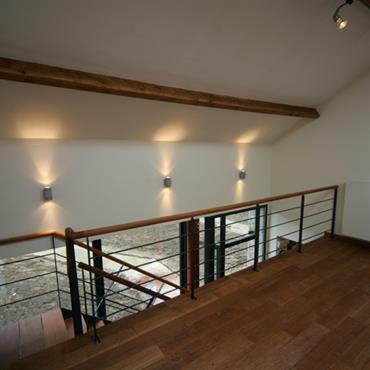 Mezzanine en parquet