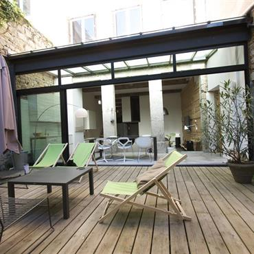 Terrasses design et contemporaines id e d co et for Terrasse design contemporain