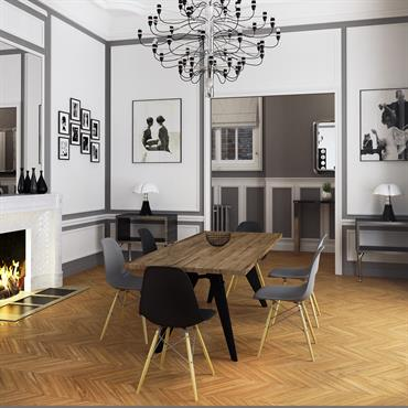 d co salle manger design id es d am nagement et photos. Black Bedroom Furniture Sets. Home Design Ideas