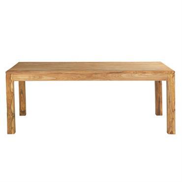 Mise en beauté par le bois de sheesham massif, cette grande table à manger STOCKHOLM s'épanouira parfaitement dans votre univers contemporain. Sobre et épurée, cette table rectangulaire 10 personnes vous ...