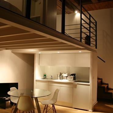 Chambre en duplex