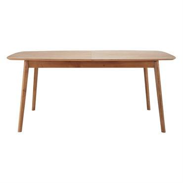 Table à manger extensible en chêne 8 à 10 personnes L180/240 Portobello