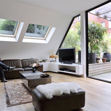 Grand Salon sous  les toits