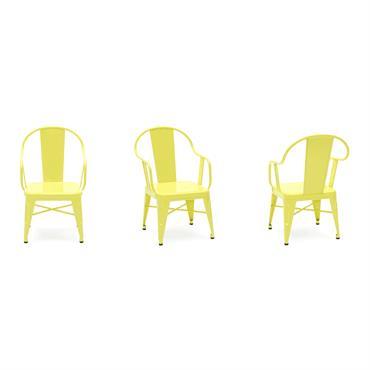 Fauteuil mouette jaune